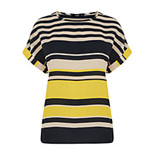 Buy Oasis Stripe T-shirt, Multi Online at johnlewis.com