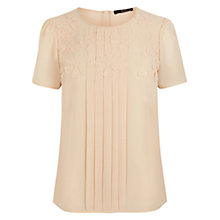 Buy Oasis Petal T-shirt, Whispering Peach Online at johnlewis.com