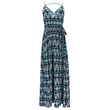 Buy Oasis Tile Patched Maxi Dress, Atlas Blue Online at johnlewis.com