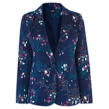 Buy Oasis Iris Print Cotton Blazer, Starry Night Online at johnlewis.com