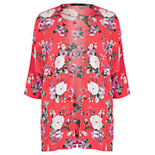 Buy Oasis Rose Kimono, Coral Online at johnlewis.com