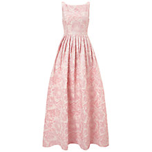 Buy Adrianna Papell Sleeveless Floral Gown, Pink Online at johnlewis.com