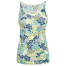 Buy Oasis Ditsy Patch Vest Top, Multi Online at johnlewis.com