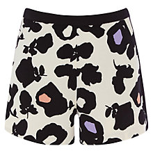 Buy Oasis Large Shadow Floral Shorts, Multi Online at johnlewis.com