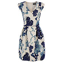 Buy Oasis Oriental Maple Dress, Magnolia/Blue Online at johnlewis.com