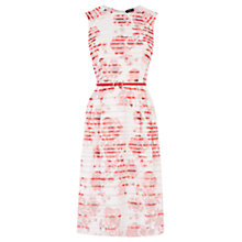 Buy Oasis Etched Botanical Dress, Multi Online at johnlewis.com
