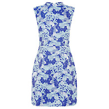 Buy Oasis Oriental Jacquard Shift Dress, Multi Blue Online at johnlewis.com