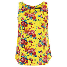 Buy Oasis Florentina Vest, Bright Yellow Online at johnlewis.com