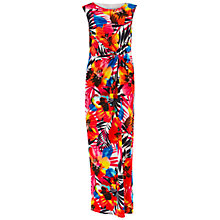 Buy Gina Bacconi Long Printed Dress, Multi Online at johnlewis.com