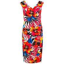 Buy Gina Bacconi Printed Knot Dress, Multi Online at johnlewis.com