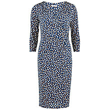 Buy Gina Bacconi Printed Dress, Navy Online at johnlewis.com