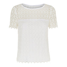 Buy Fenn Wright Manson Rosmarin Top, White Online at johnlewis.com