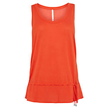 Buy Karen Millen Polka Dot Vest, Orange Online at johnlewis.com