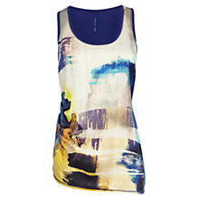 Buy Karen Millen Mineral Print Vest, Multi Online at johnlewis.com