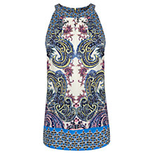 Buy Warehouse Paisley Halter Top, Multi Online at johnlewis.com