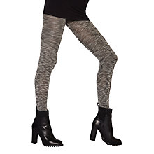 Buy Jonathan Aston Mellow Textured Slub Tights, Grey Online at johnlewis.com