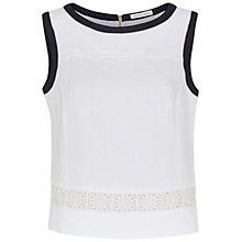 Buy Fenn Wright Manson Linen Orlaya Top, White Online at johnlewis.com