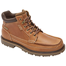 Buy Rockport Gentlemens Leather Boots, Straw Online at johnlewis.com