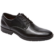 Buy Rockport Total Motion Plain Toe Shoes, Black Online at johnlewis.com