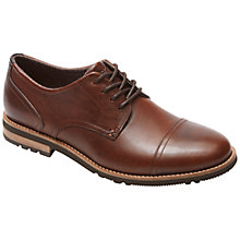 Buy Rockport Ledge Hill Oxford Shoes, Dark Brown Online at johnlewis.com