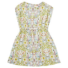 Buy Jigsaw Junior Tropical Bird Dress, Multi Online at johnlewis.com