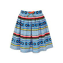 Buy John Lewis Girl Aztec Print Skirt, Multi Online at johnlewis.com