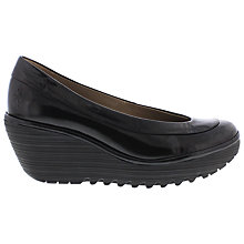 Buy Fly Yoko Leather Wedge Pumps Online at johnlewis.com