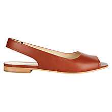Buy Hobbs Caitlyn Flat Slingback Sandals Online at johnlewis.com