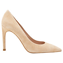 Buy Whistles Cornel Pointed Leather Court Shoes Online at johnlewis.com