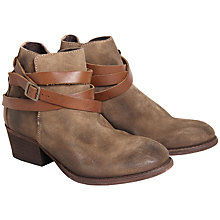 Buy H by Hudson Horrigan Strapped Ankle Boots Online at johnlewis.com
