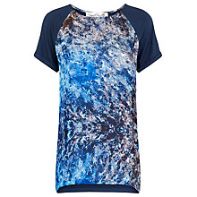 Buy Damsel in a dress Satellite Print Top, Ink Online at johnlewis.com