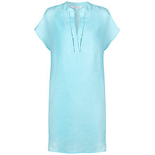 Buy Fenn Wright Manson Sea Lavender Linen Dress, Aqua Online at johnlewis.com
