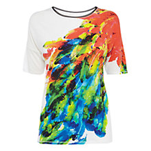 Buy Karen Millen Fun T-Shirt, Multi Online at johnlewis.com