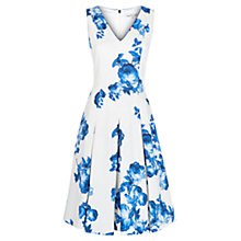 Buy Damsel in a dress Zsa Cotton Dress, Blue/White Online at johnlewis.com