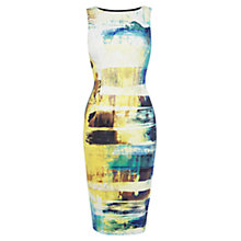 Buy Karen Millen Art Print Stretch Dress, Multi Online at johnlewis.com