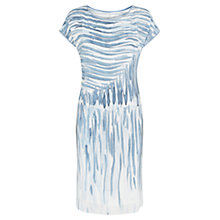 Buy Damsel in a dress Chalk Print Silk Dress, Multi Online at johnlewis.com