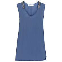 Buy Damsel in a dress Murano Top, Navy Online at johnlewis.com