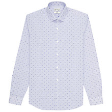 Buy Reiss Marylebone Polka Dot Shirt, Blue Online at johnlewis.com