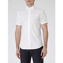 Buy Reiss Razor Short Sleeve Cotton Shirt Online at johnlewis.com