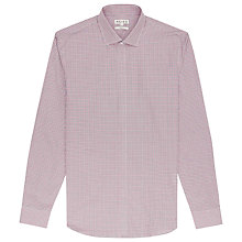 Buy Reiss Fells Slim Fit Check Shirt, Red Online at johnlewis.com