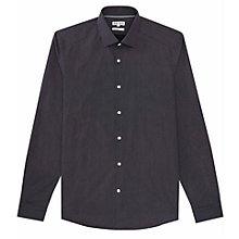 Buy Reiss Michael Micro Polka Dot Shirt, Blue Online at johnlewis.com