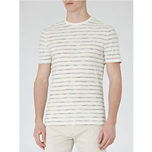 Buy Reiss Riley Stripe Pique T-Shirt Online at johnlewis.com