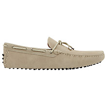 Buy Reiss Bradley Suede Driving Shoes Online at johnlewis.com