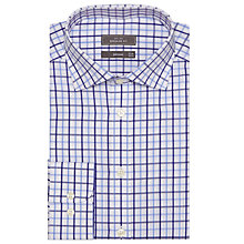 Buy John Lewis Twin Check Regular Fit Shirt, Blue Online at johnlewis.com