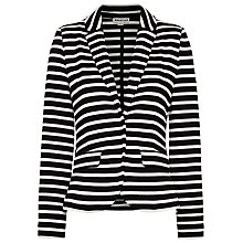 Buy Whistles Double Faced Jacket, Black /  Multi Online at johnlewis.com