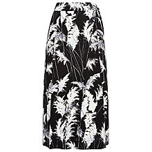 Buy Whistles Print Wrap Skirt, Black/White Online at johnlewis.com