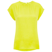 Buy Whistles Nikki Bubble Silk Top Online at johnlewis.com
