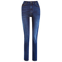 Buy Whistles Mid Wash Skinny Jeans, Denim Online at johnlewis.com