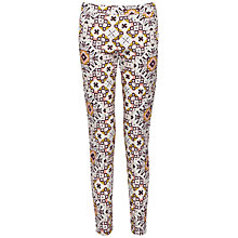 Buy French Connection Electric Mosaic Trousers, Anemone Multi Online at johnlewis.com