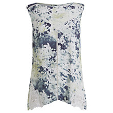 Buy Mint Velvet Ariel Print Lace Detail Top, Multi Online at johnlewis.com
